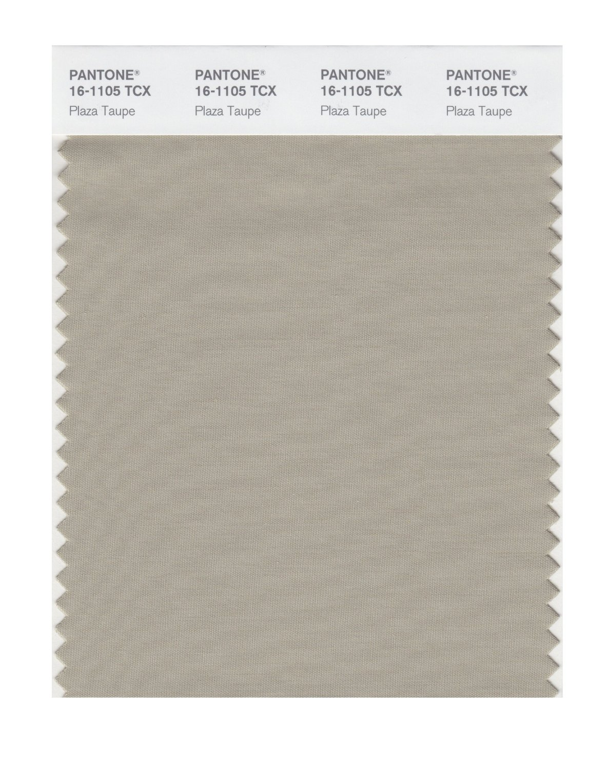 Pantone Smart Swatch 16-1105 Plaza Taupe
