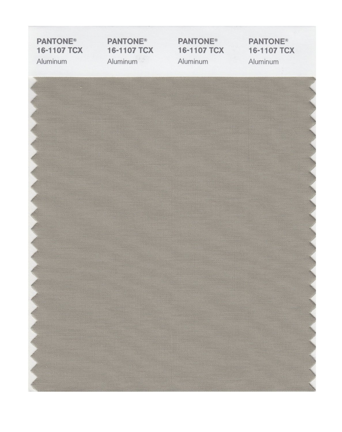 Pantone Smart Swatch 16-1107 Aluminum