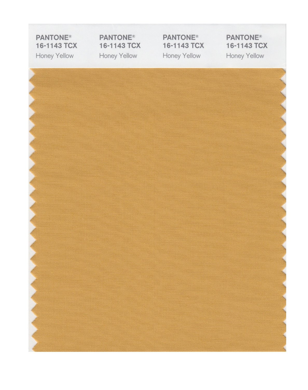 Pantone Smart Swatch 16-1143 Honey Yellow
