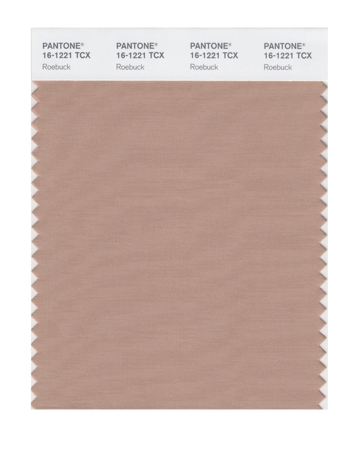Pantone Smart Swatch 16-1221 Roebuck