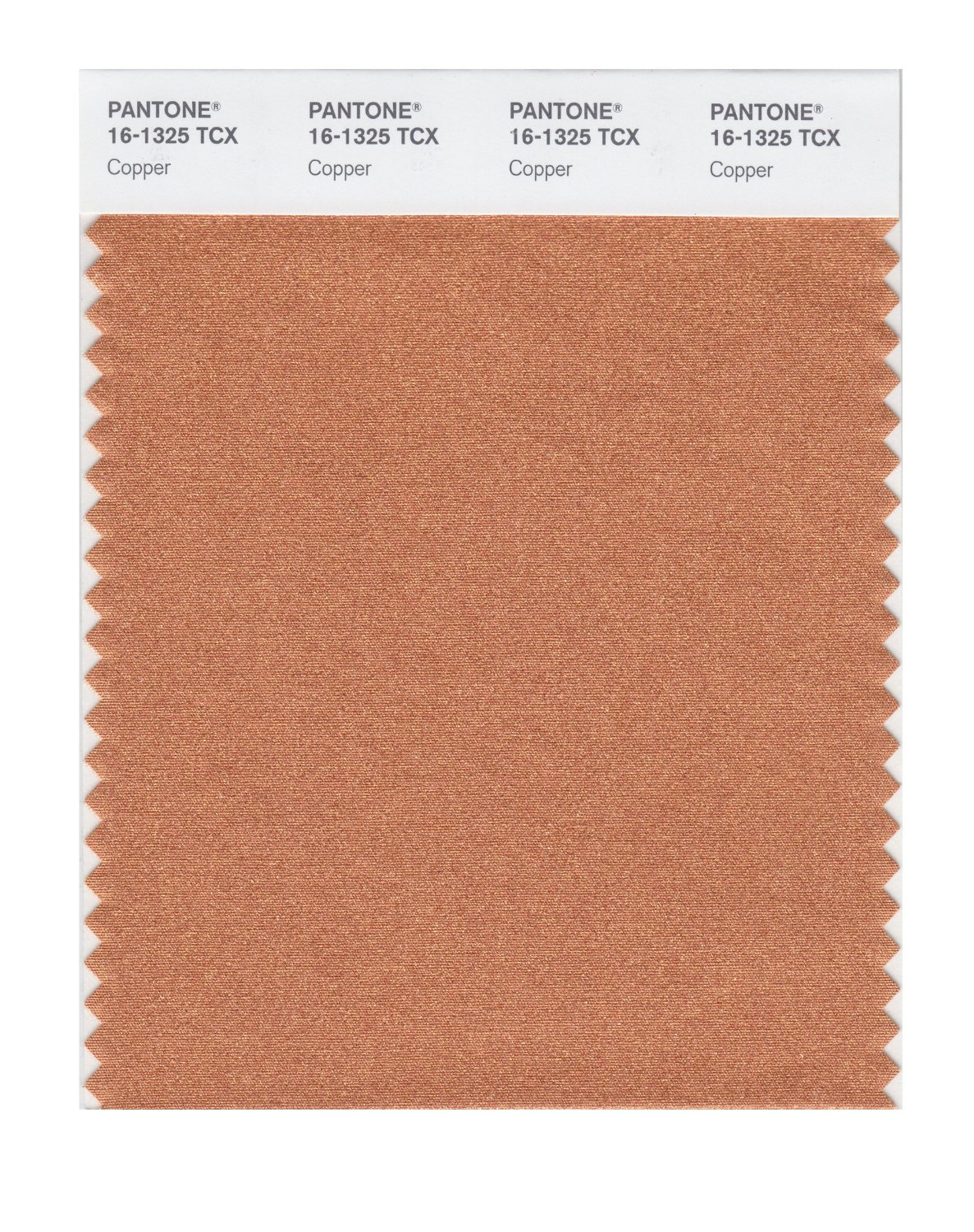 Pantone Smart Swatch 16-1325 Copper