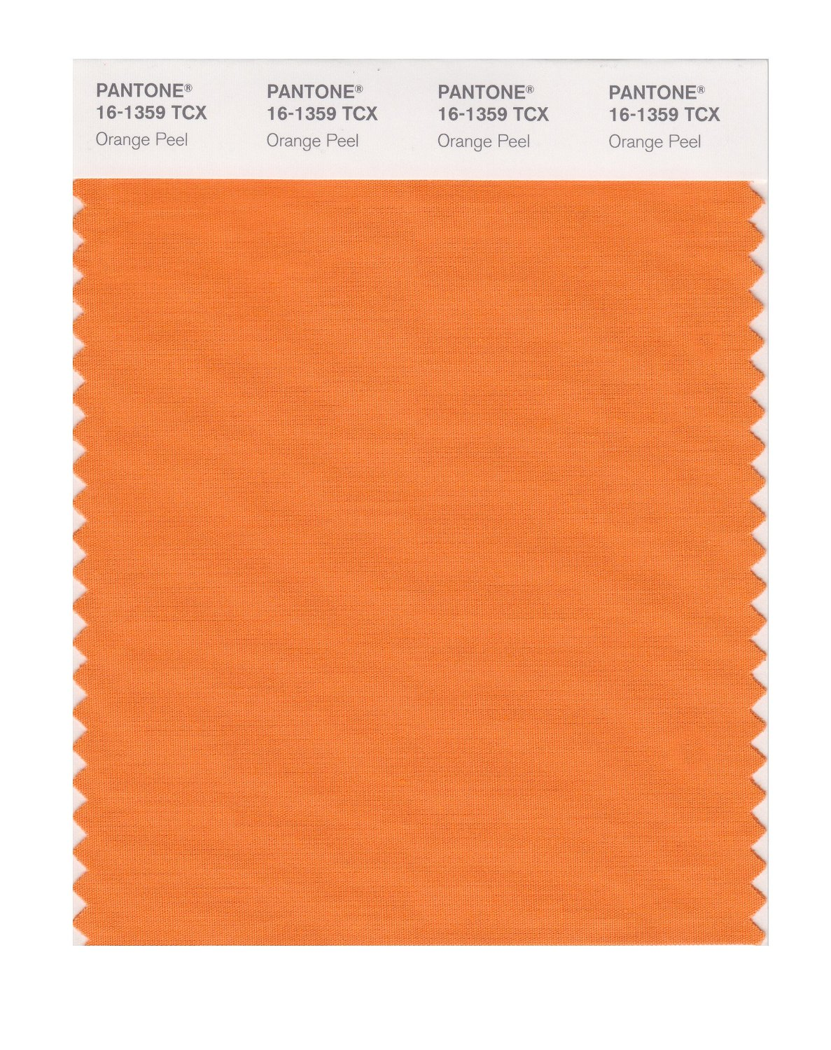 Pantone Smart Swatch 16-1359 Orange Peel