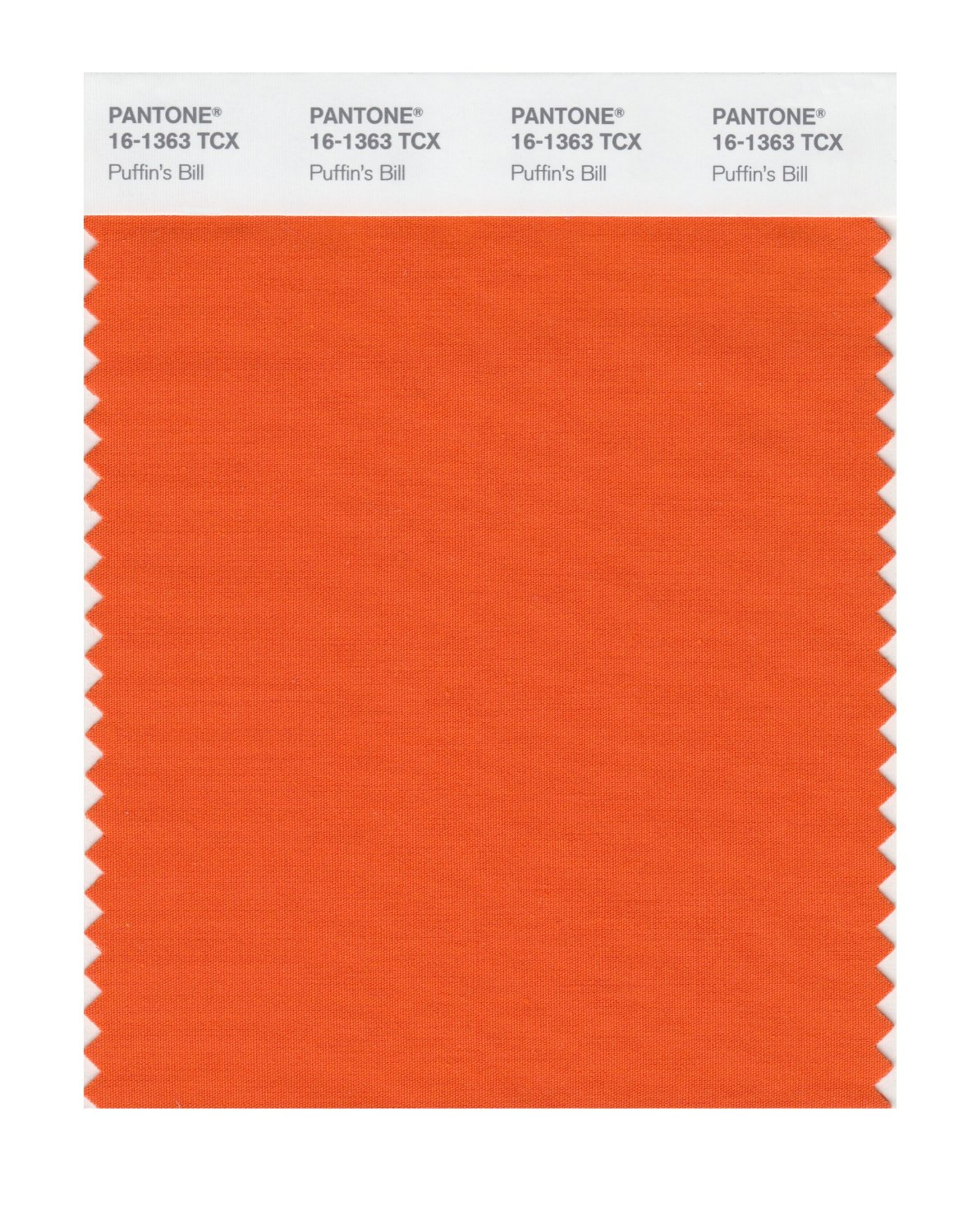 Pantone Smart Swatch 16-1363 Puffin's Bill