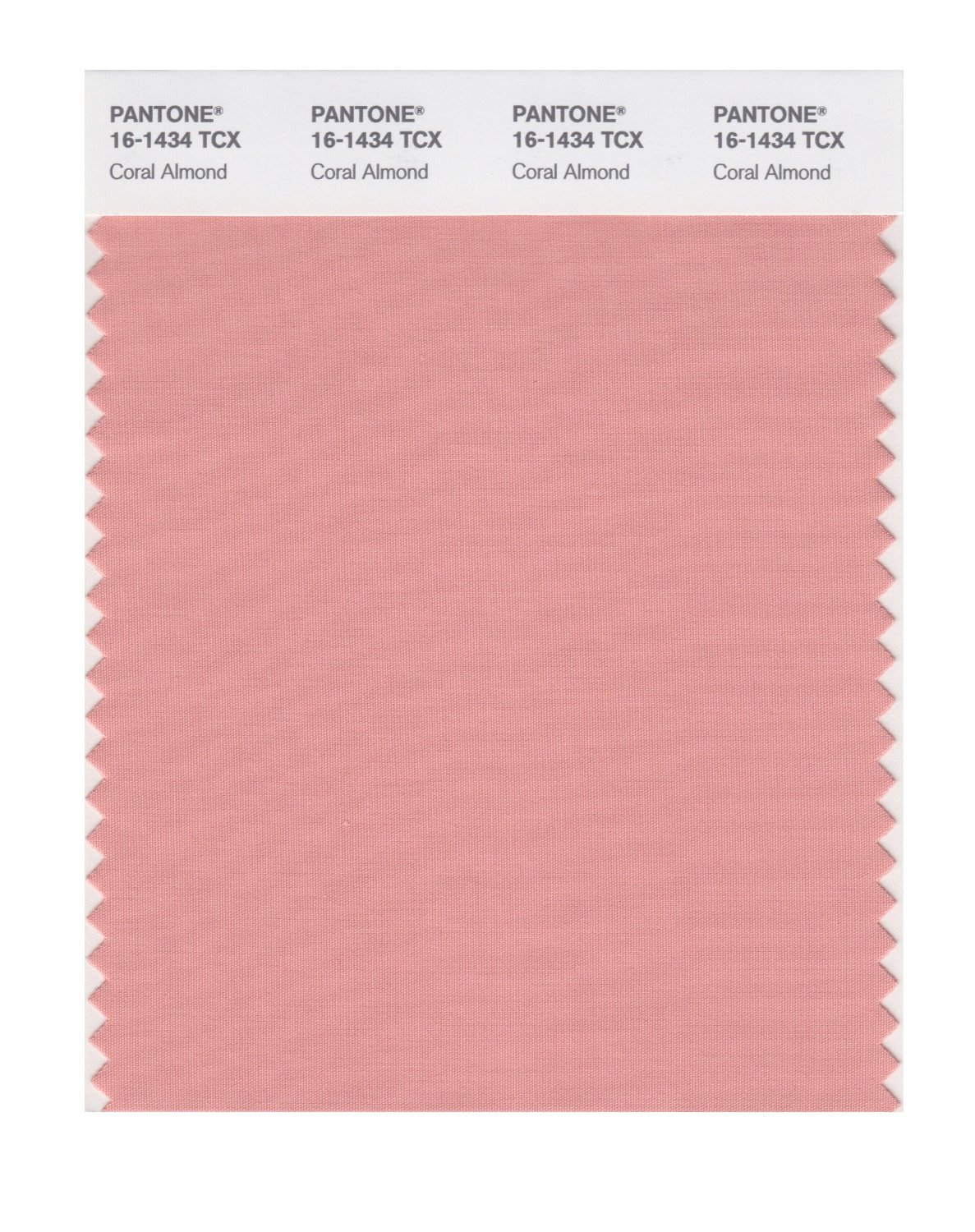 Pantone Smart Swatch 16-1434 Coral Almond
