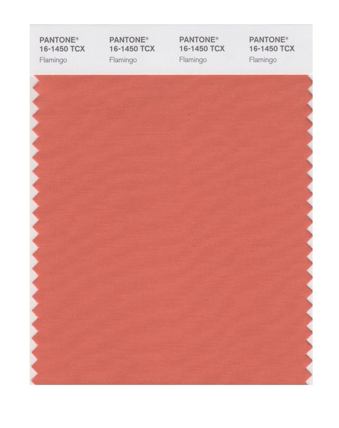 Pantone Smart Swatch 16-1450 Flamingo