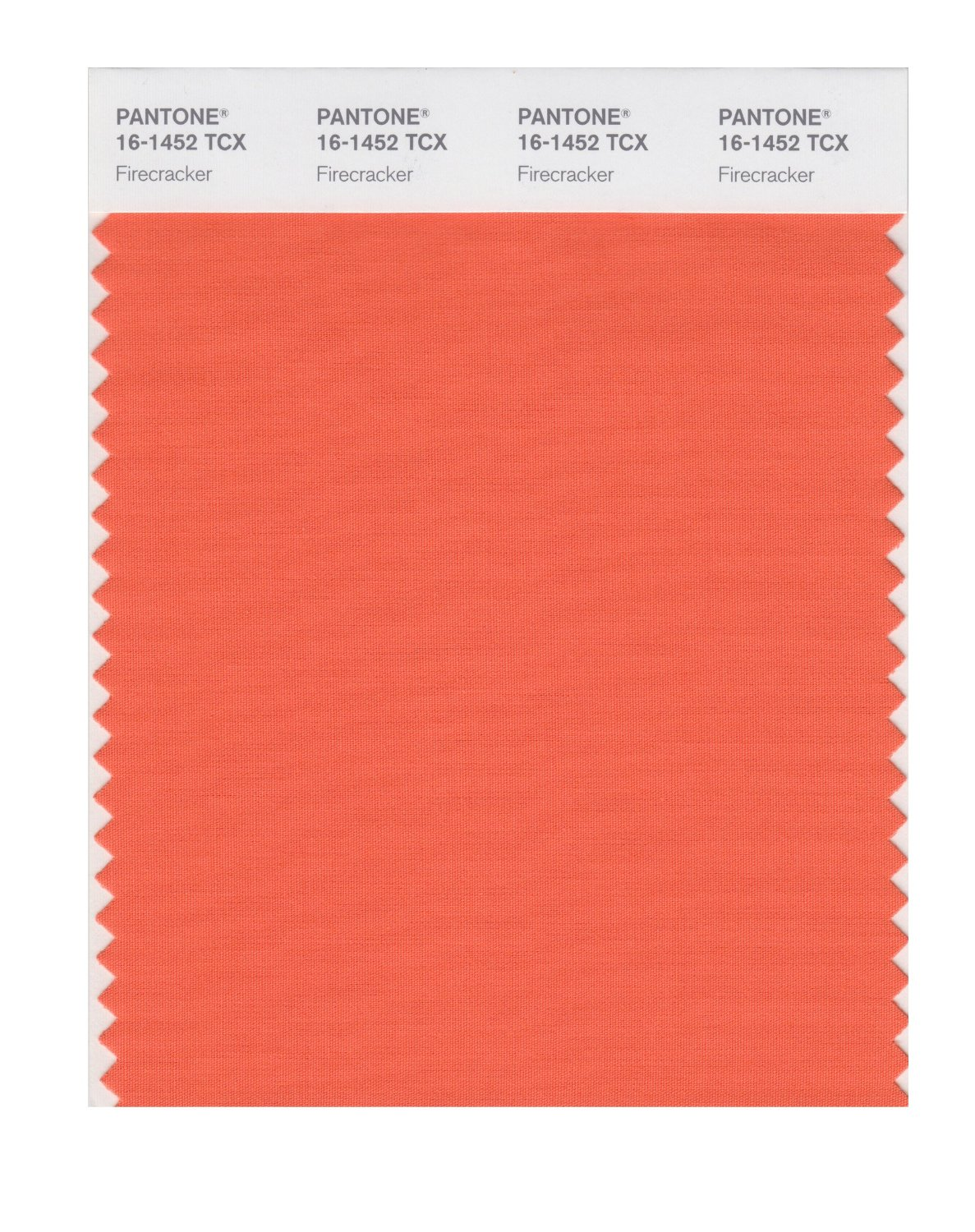 Pantone Smart Swatch 16-1452 Firecracker