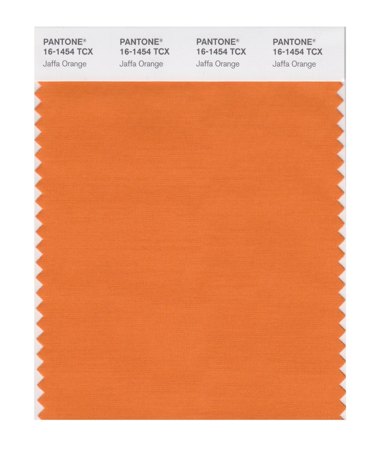Pantone Smart Swatch 16-1454 Jaffa Orange