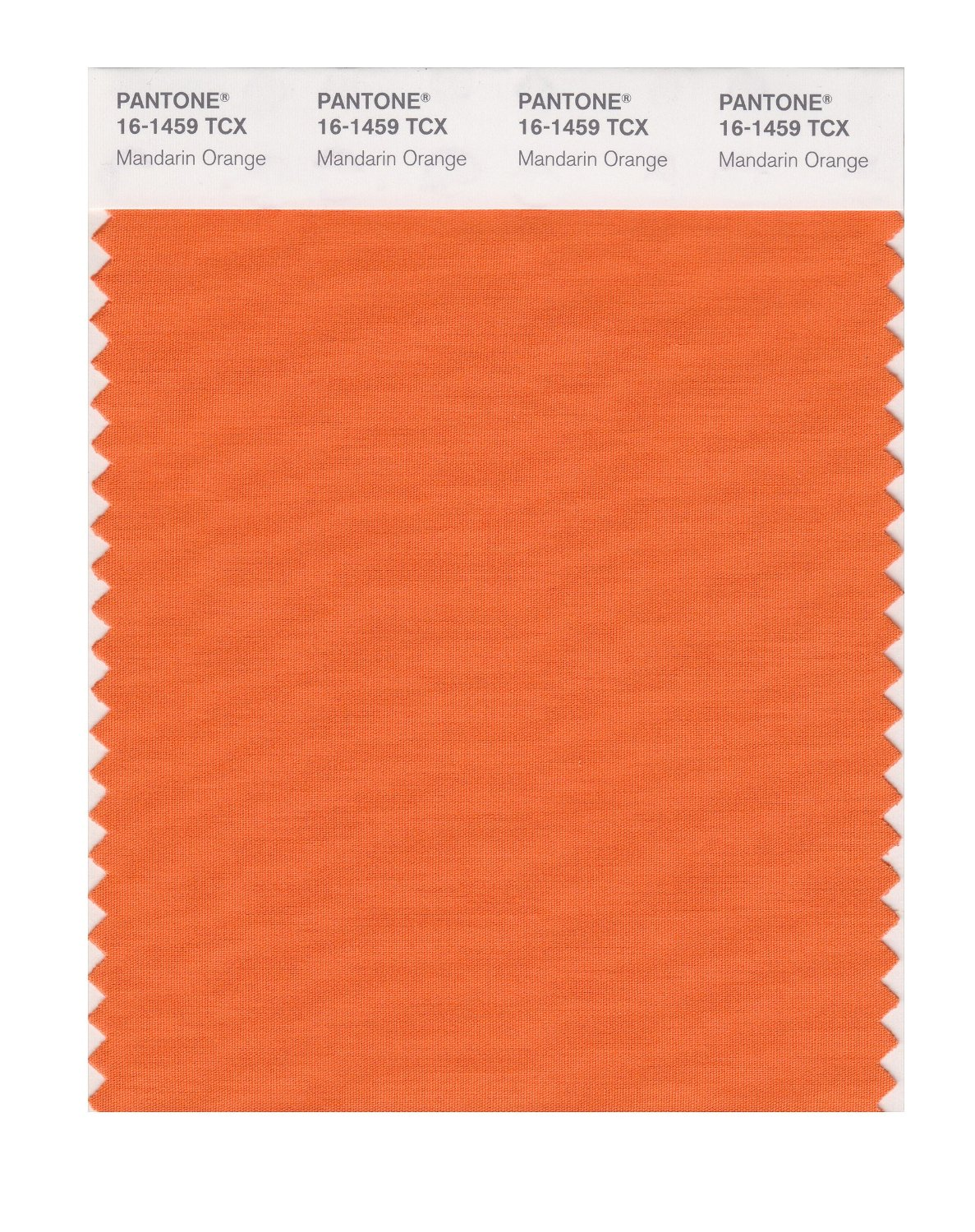 Pantone Smart Swatch 16-1459 Mandarin Orange
