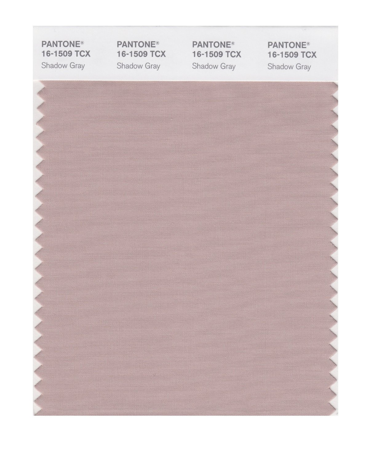 Pantone Smart Swatch 16-1509 Shadow Gray