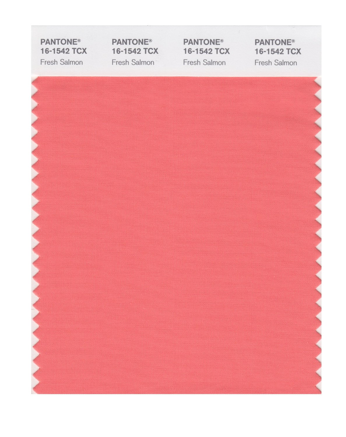 Pantone Smart Swatch 16-1542 Fresh Salmon