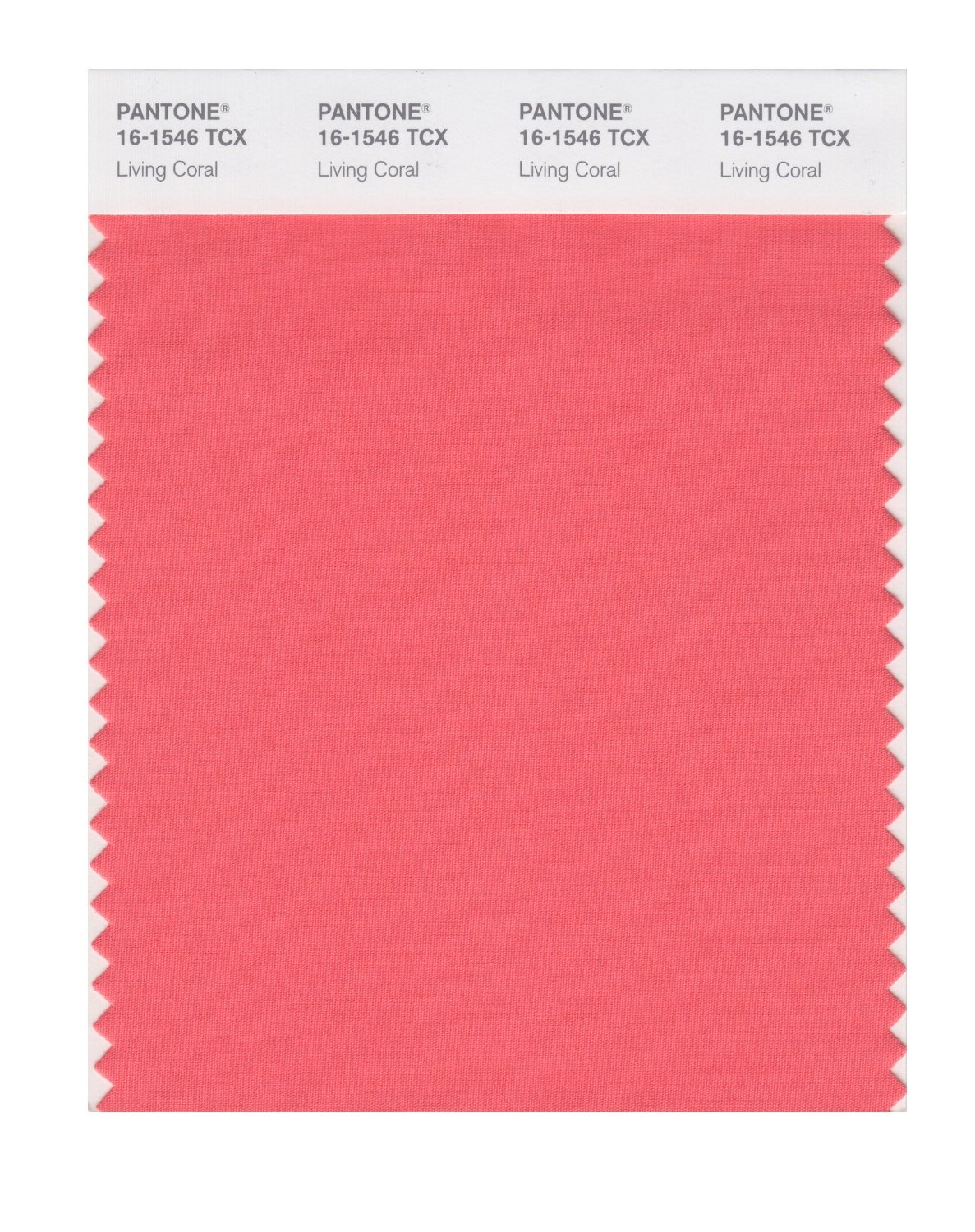 Pantone Smart Swatch 16-1546 Living Coral