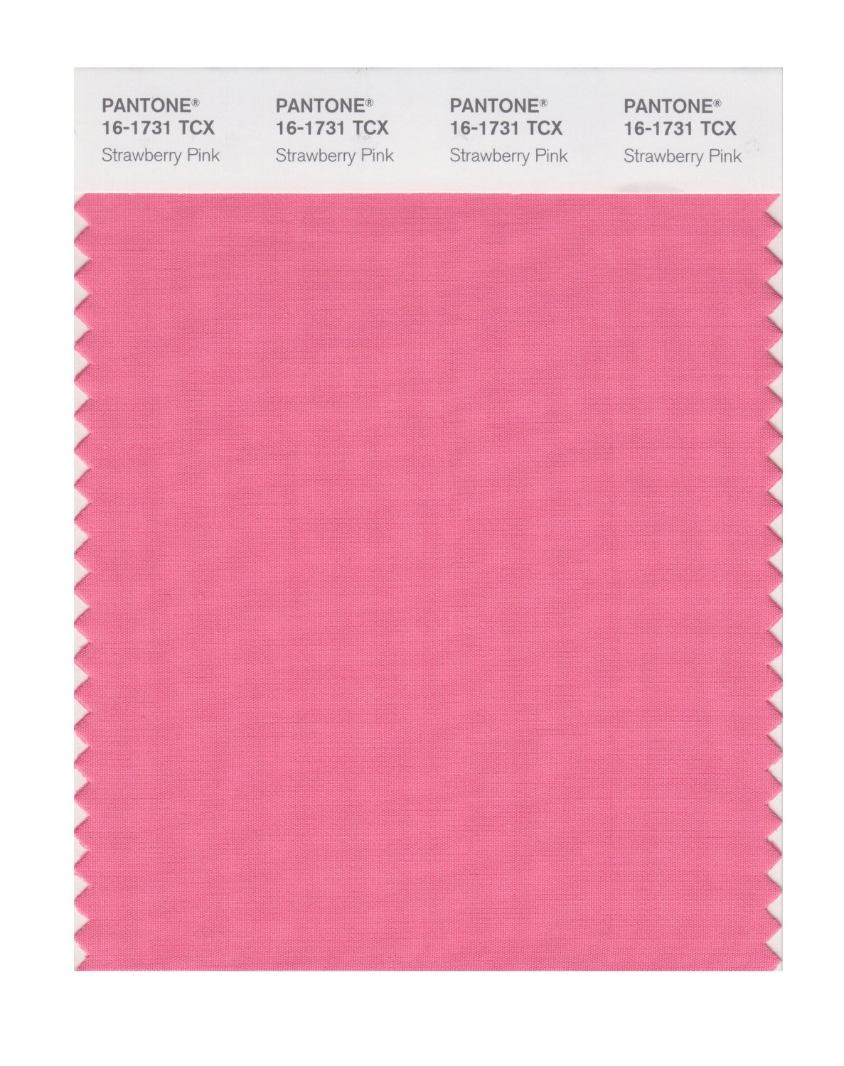 Pantone Smart Swatch 16-1731 Strawberry Pink