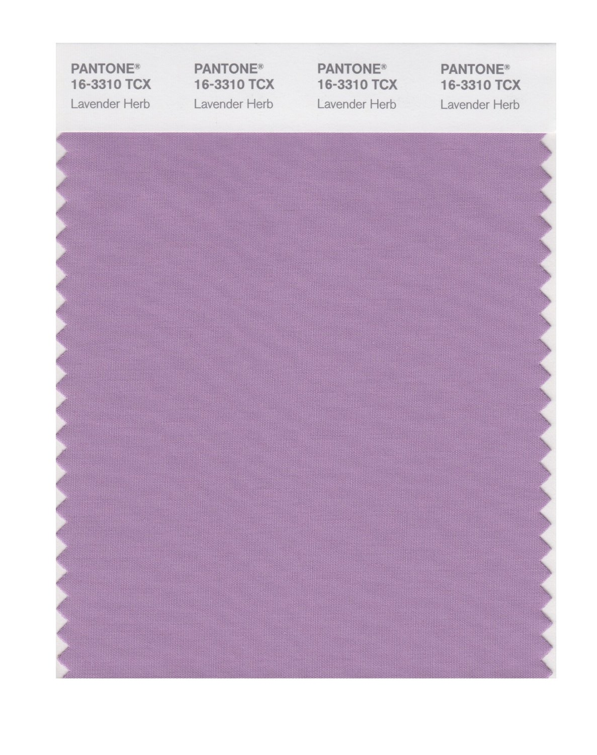 Pantone Smart Swatch 16-3310 Lavender Herb