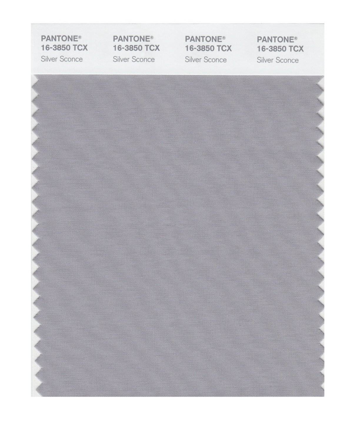 Pantone Smart Swatch 16-3850 Silver Sconce