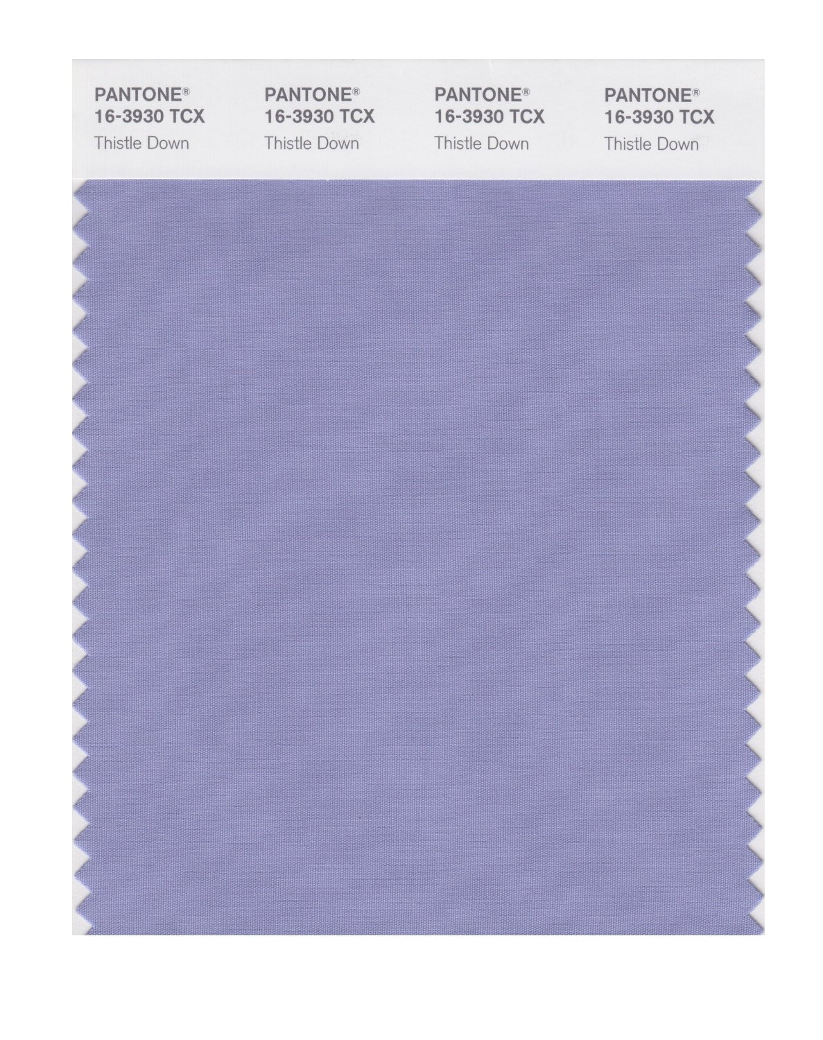 Pantone Smart Swatch 16-3930 Thistle Down