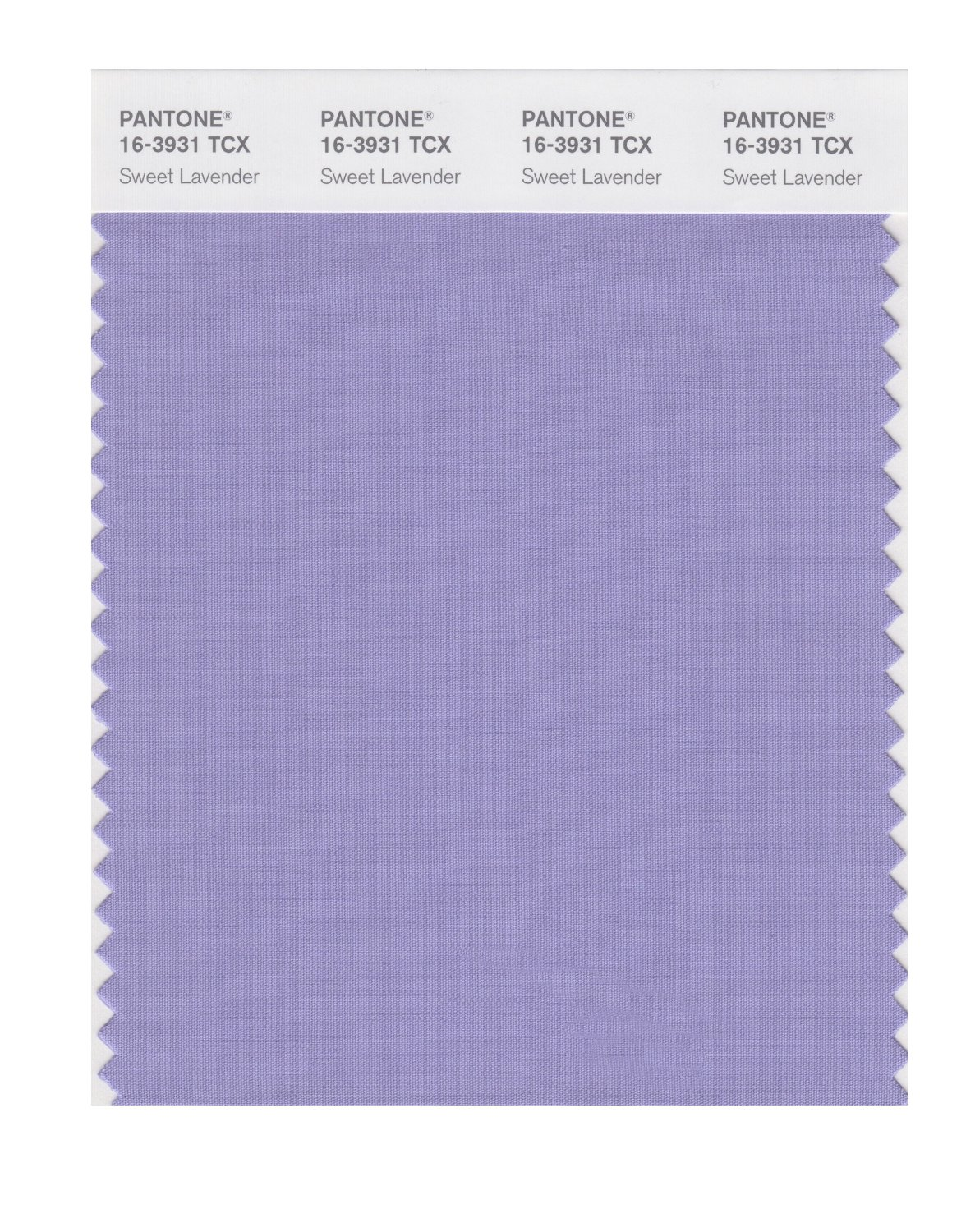 Pantone Smart Swatch 16-3931 Sweet Lavender