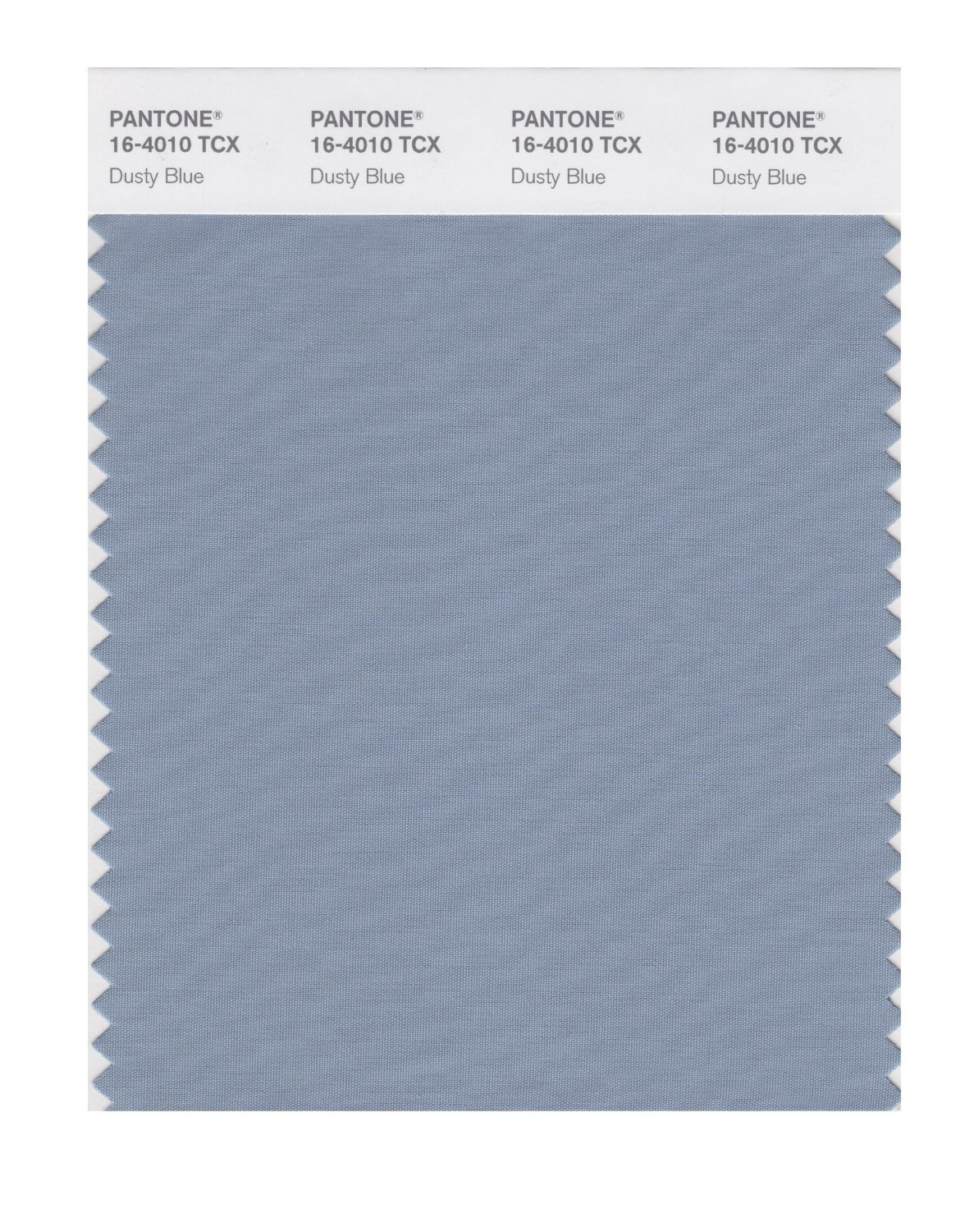 Pantone Smart Swatch 16-4010 Dusty Blue