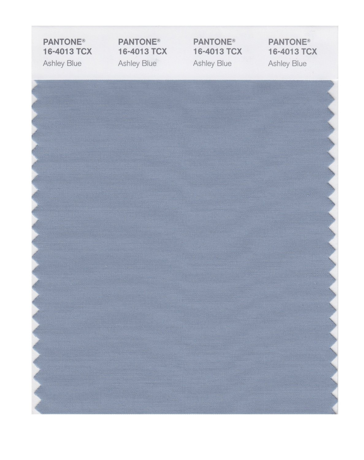 Pantone Smart Swatch 16-4013 Ashley Blue