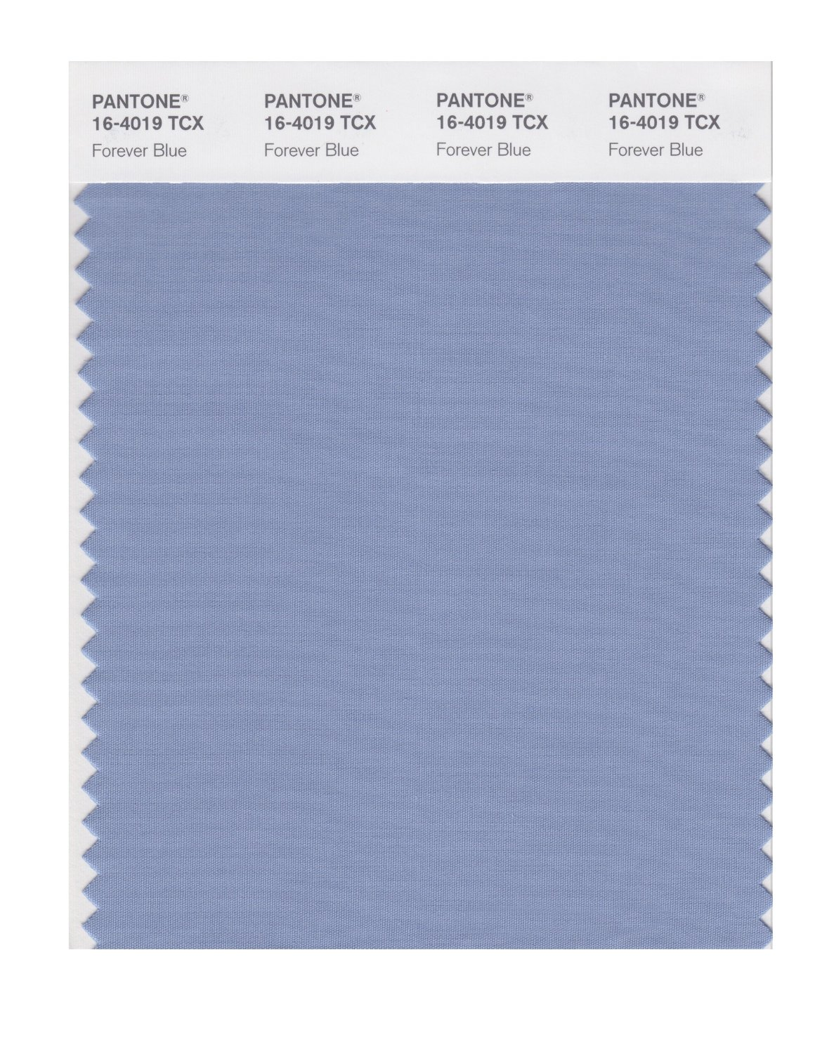 Pantone Smart Swatch 16-4019 Forever Blue
