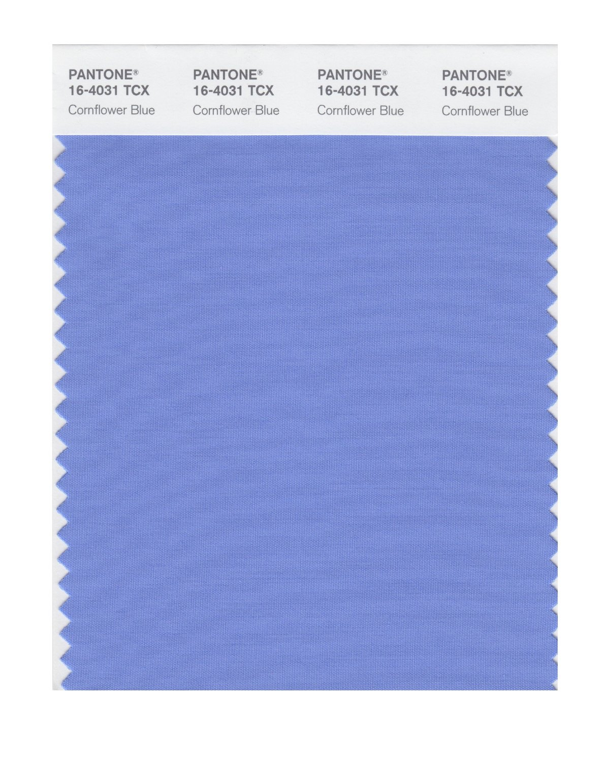 Pantone Smart Swatch 16-4031 Cornflower Blue