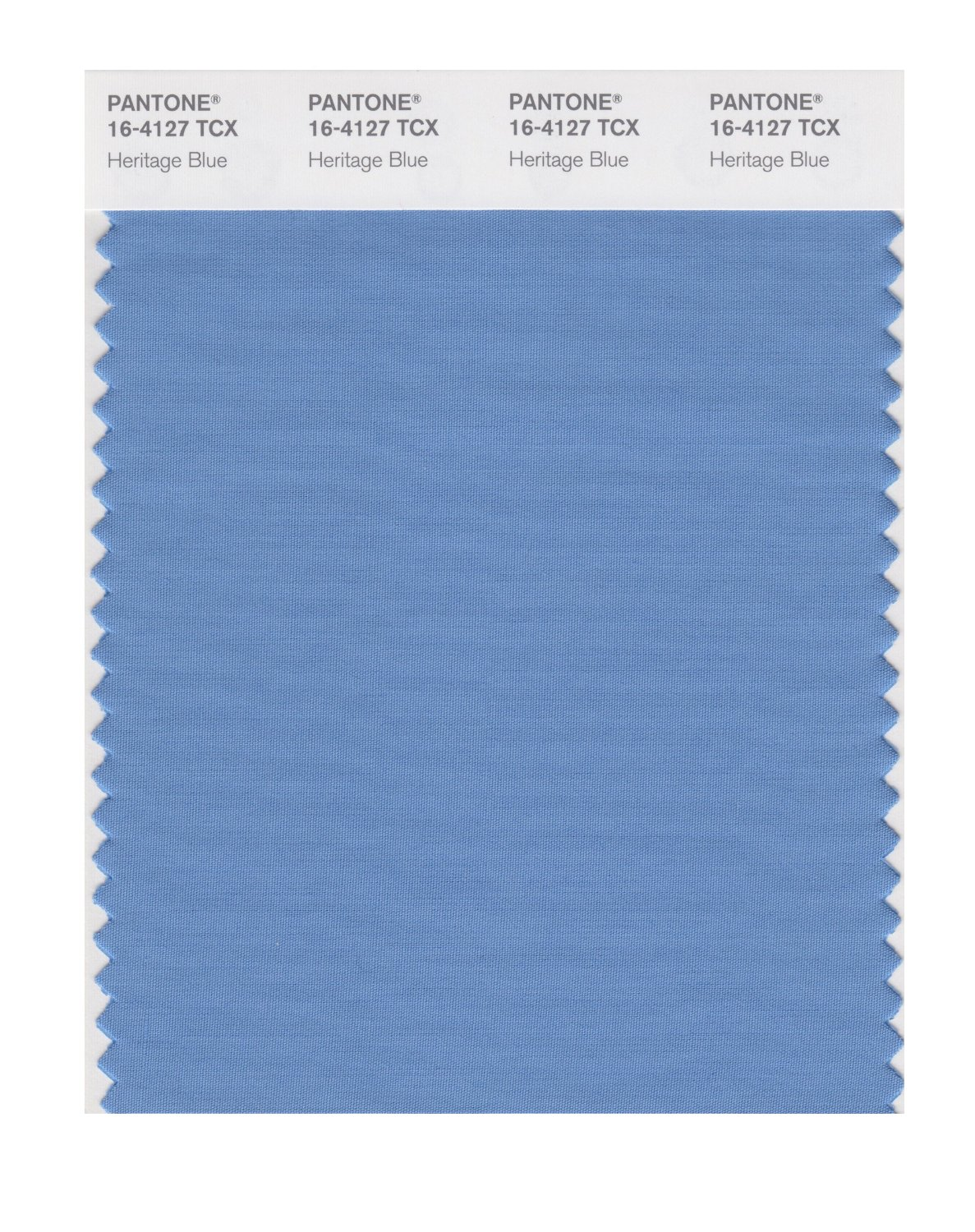 Pantone Smart Swatch 16-4127 Heritage Blue
