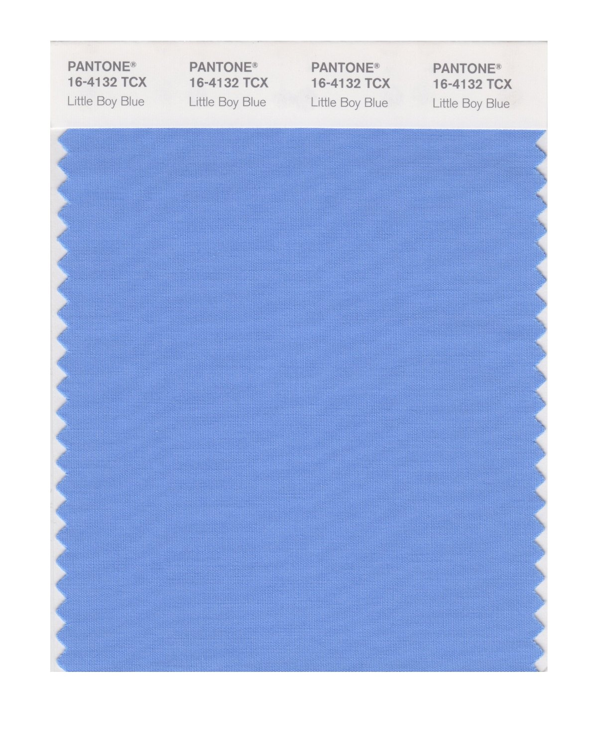 Pantone Smart Swatch 16-4132 Little Boy Blue