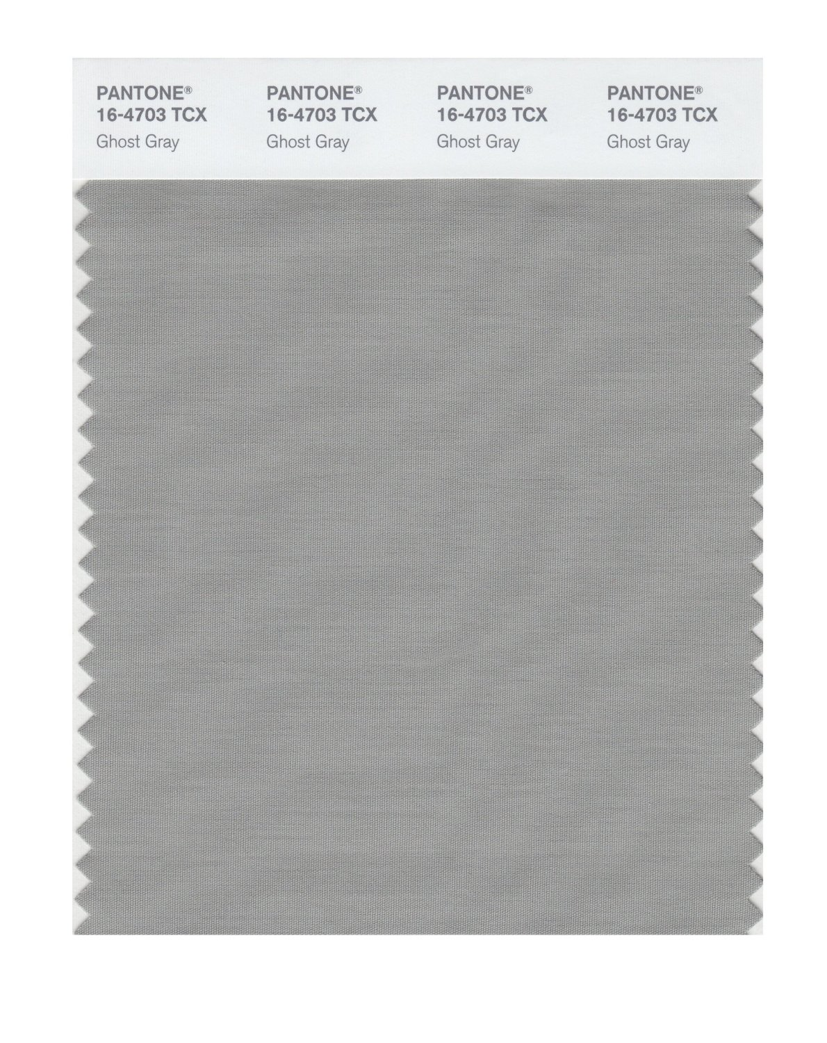 Pantone Smart Swatch 16-4703 Ghost Gray