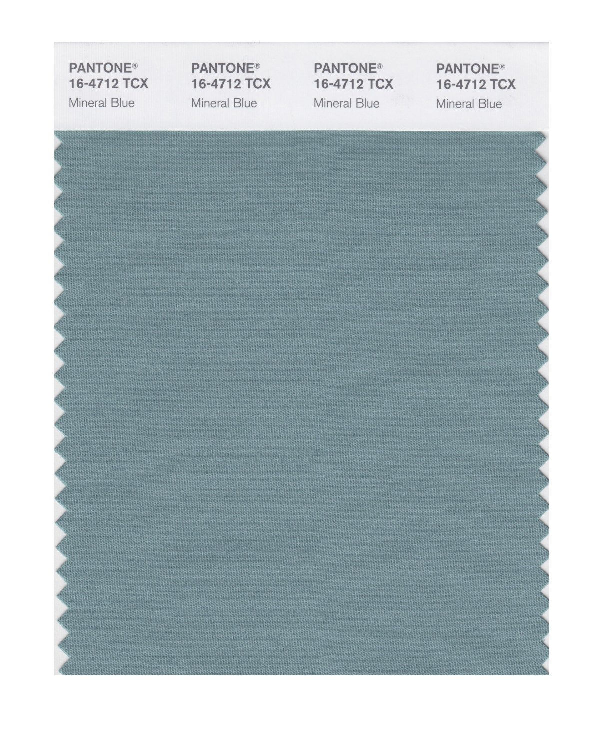 Pantone Smart Swatch 16-4712 Mineral Blue