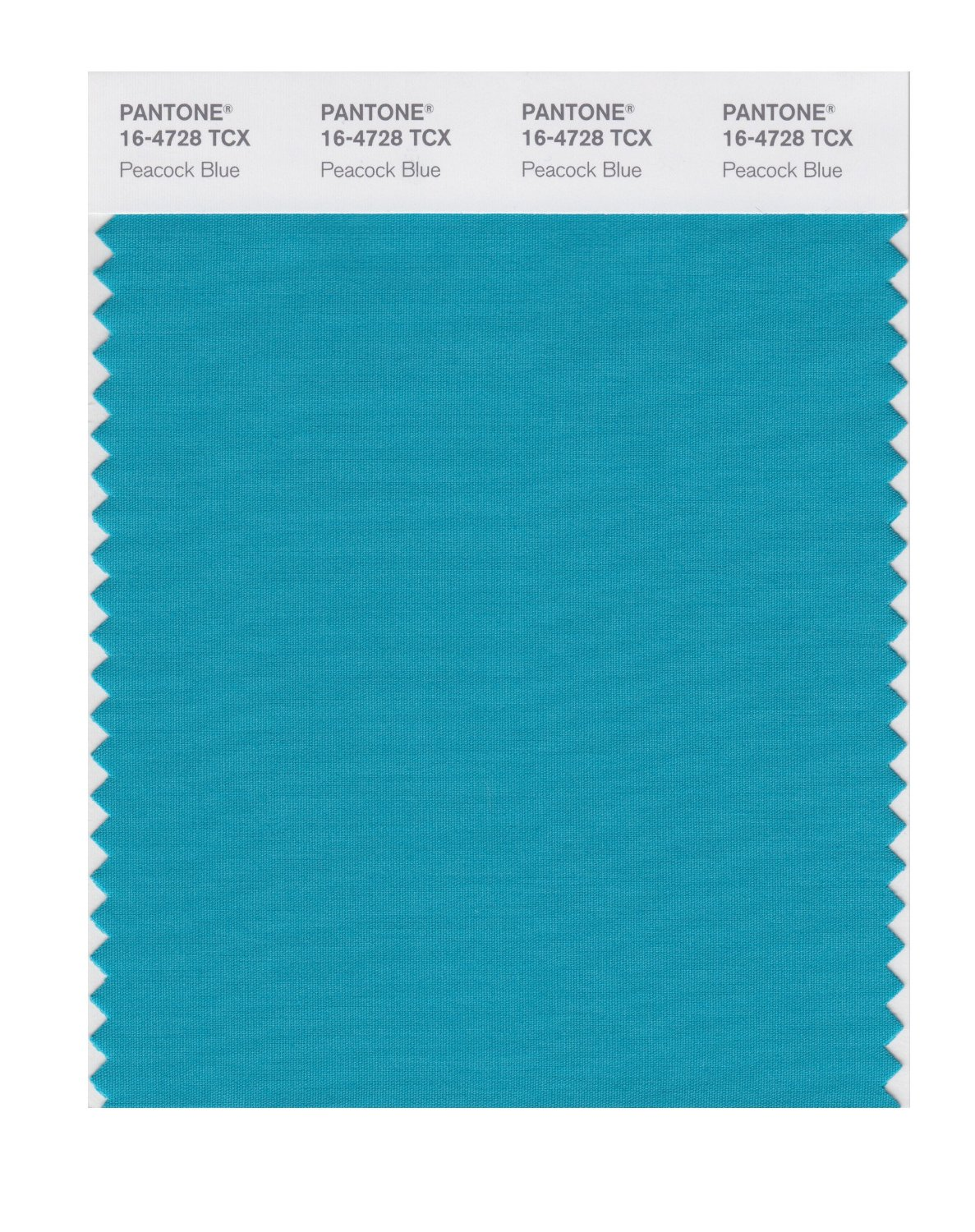 Pantone Smart Swatch 16-4728 Peacock Blue