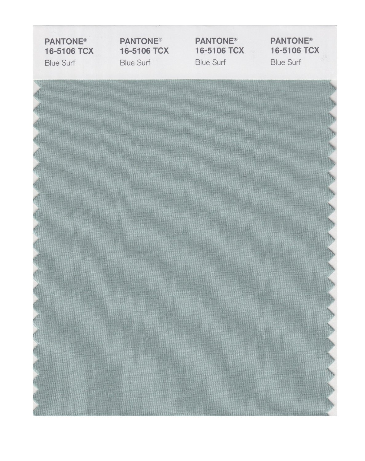 Pantone Smart Swatch 16-5106 Blue Surf