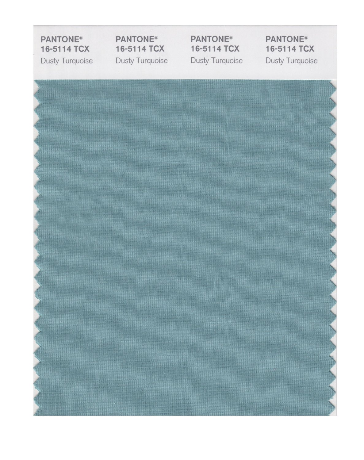 Pantone Smart Swatch 16-5114 Dusty Turquoise