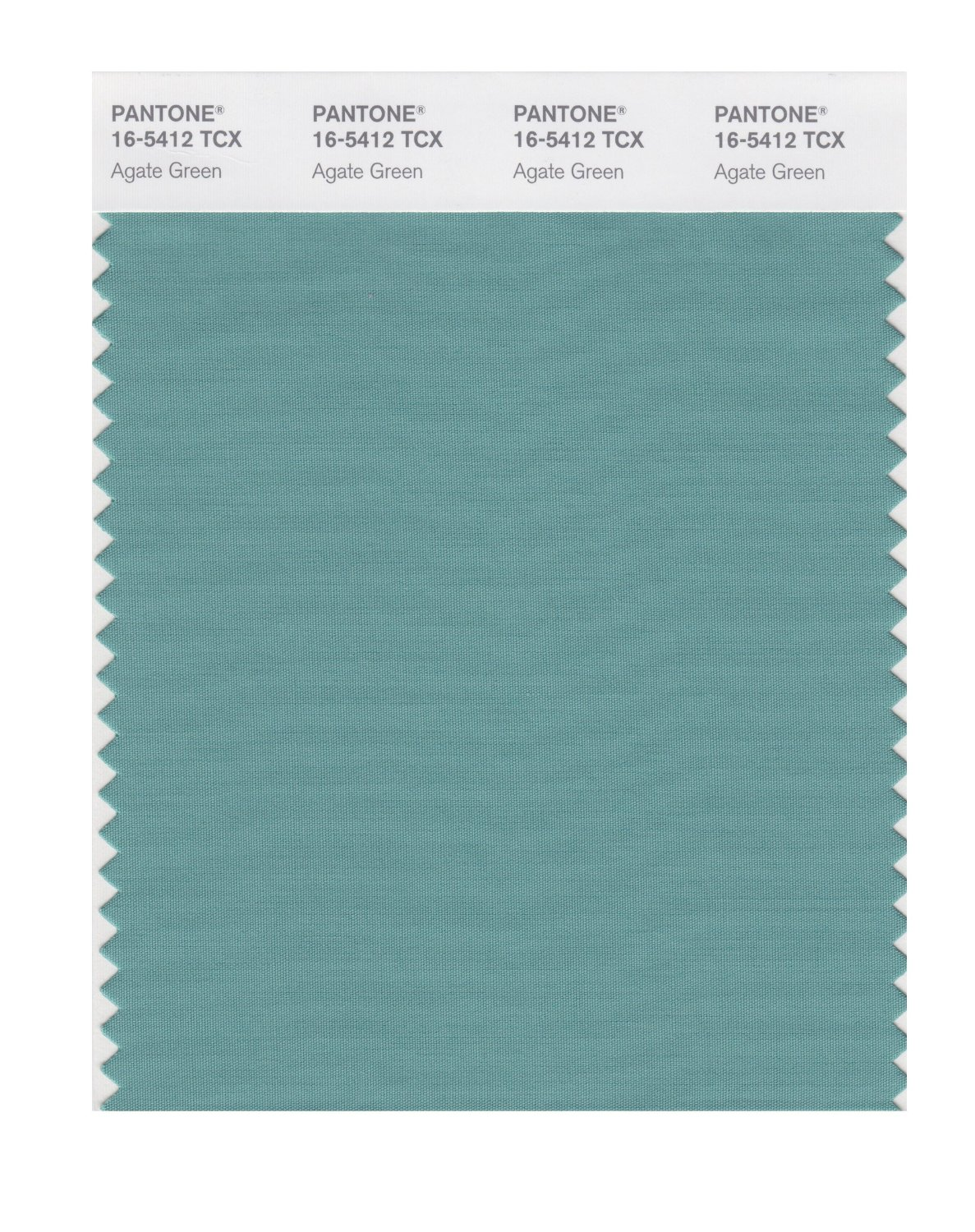 Pantone Smart Swatch 16-5412 Agate Green