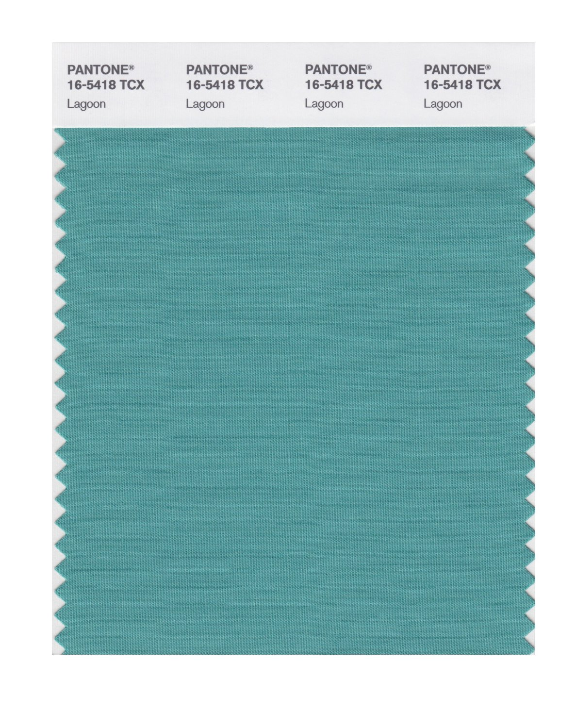 Pantone Smart Swatch 16-5418 Lagoon