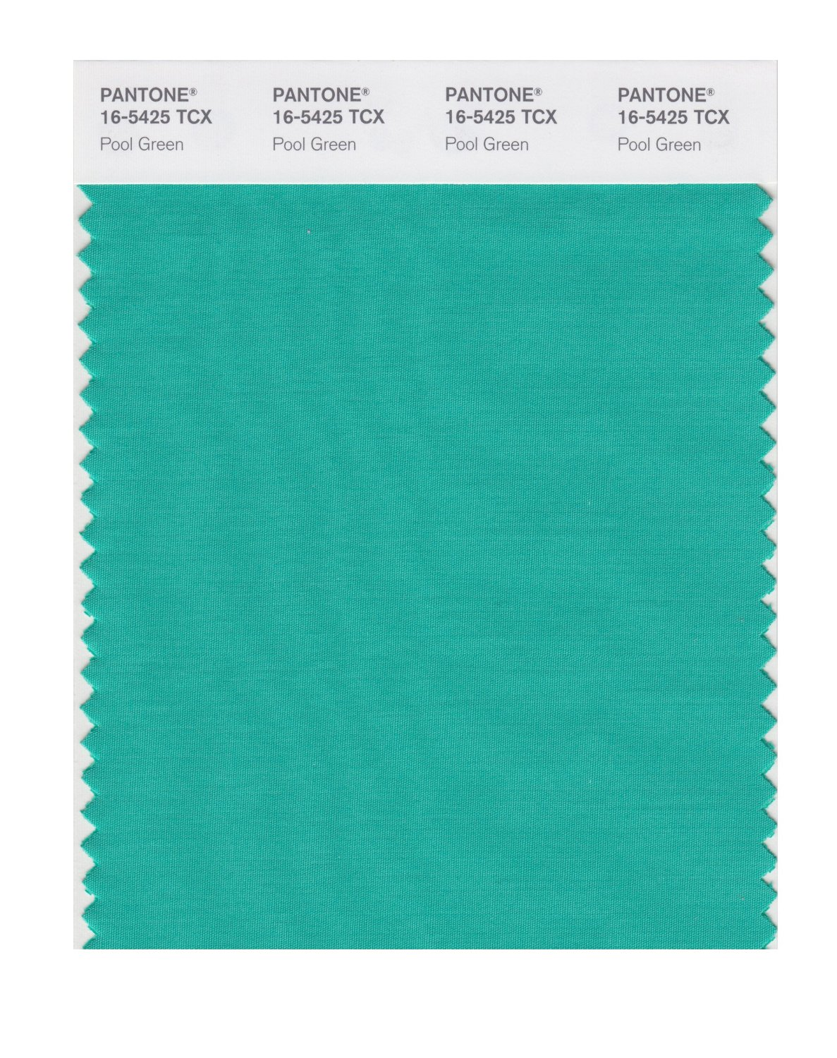 Pantone Smart Swatch 16-5425 Pool Green