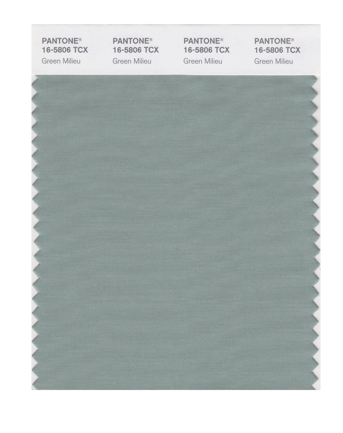 Pantone Smart Swatch 16-5806 Green Milieu