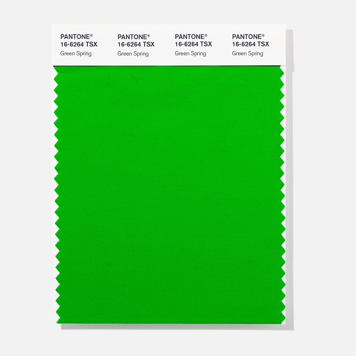 BUY Pantone Polyester Swatch 16-6264 Green Spring