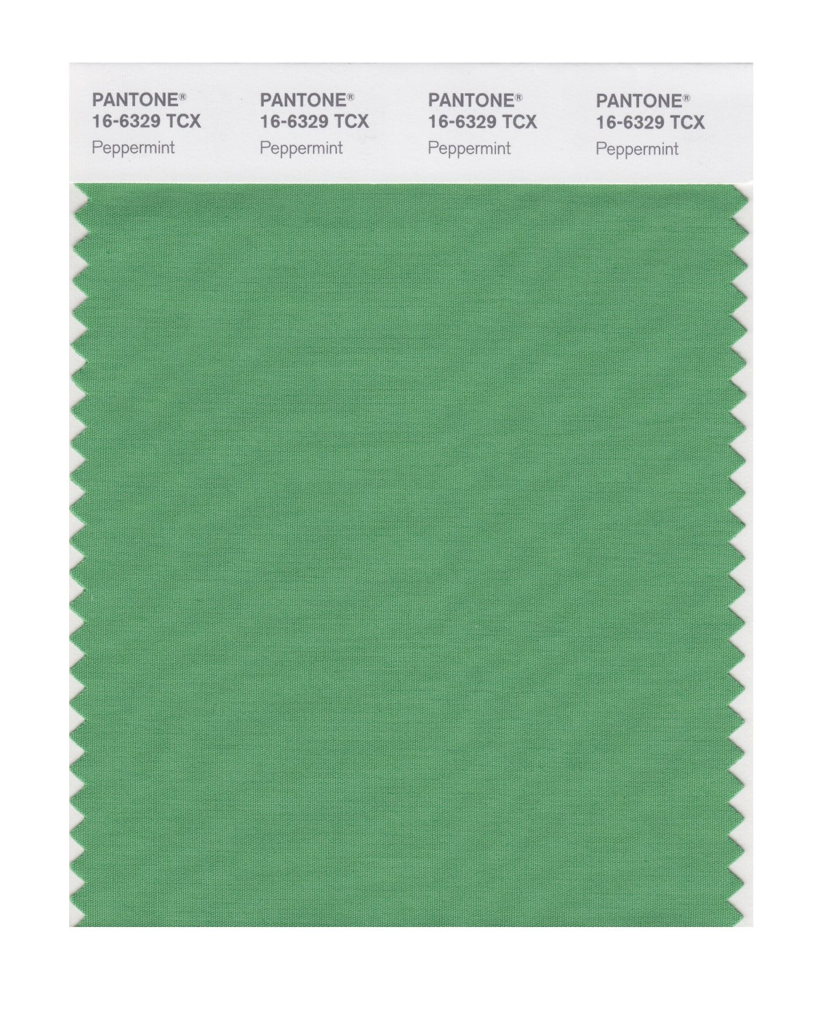 Pantone Smart Swatch 16-6329 Peppermint