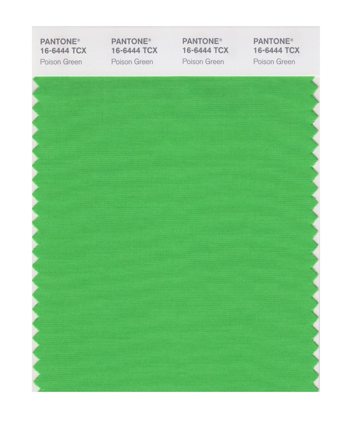 Pantone Smart Swatch 16-6444 Poison Green
