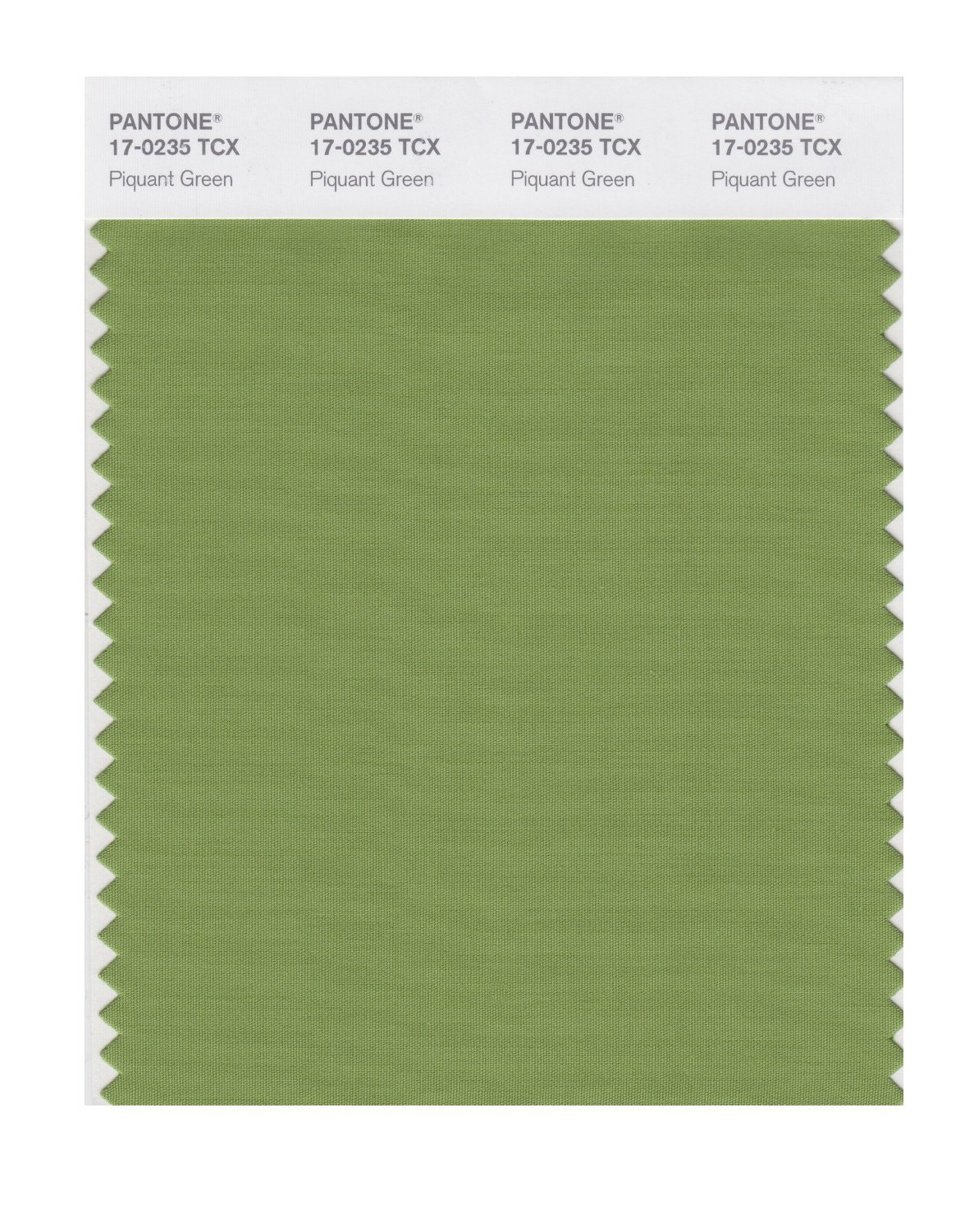 Pantone Smart Swatch 17-0235 Piquant Green