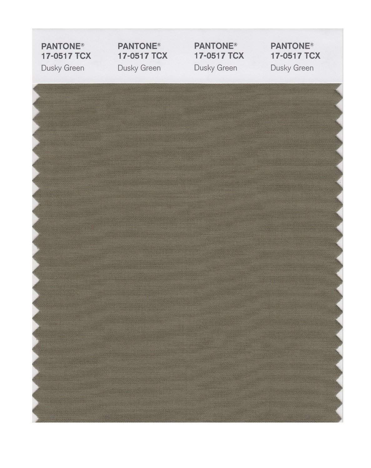 Pantone Smart Swatch 17-0517 Dusky Green