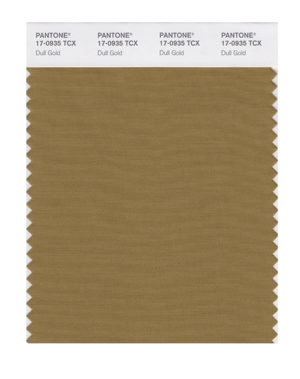 Pantone Smart Swatch 17-0935 Dull Gold