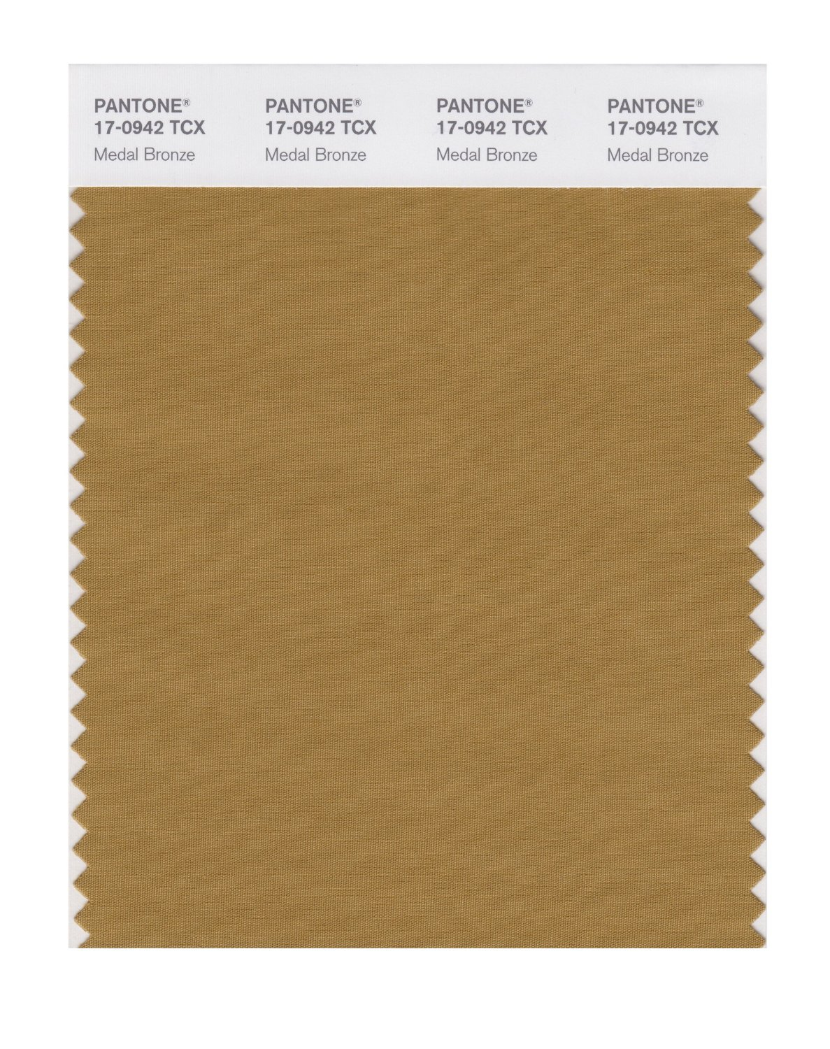 Pantone Smart Swatch 17-0942 Medal Bronze
