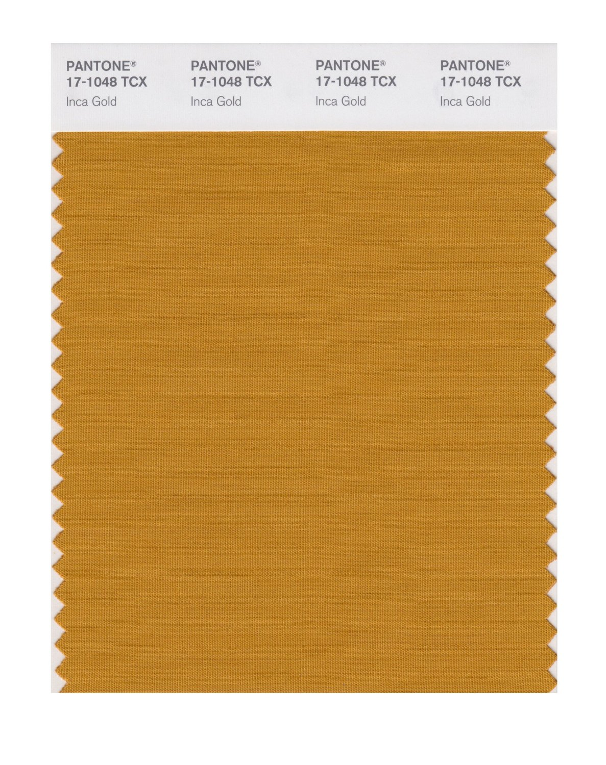 Pantone Smart Swatch 17-1048 Inca Gold