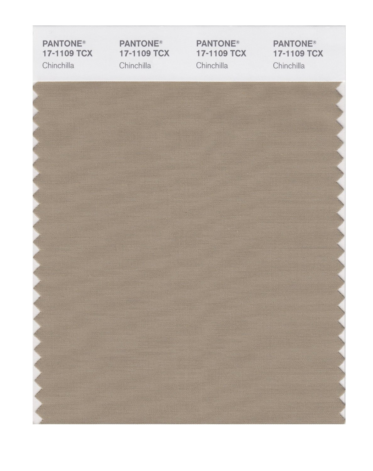 Pantone Smart Swatch 17-1109 Chinchilla