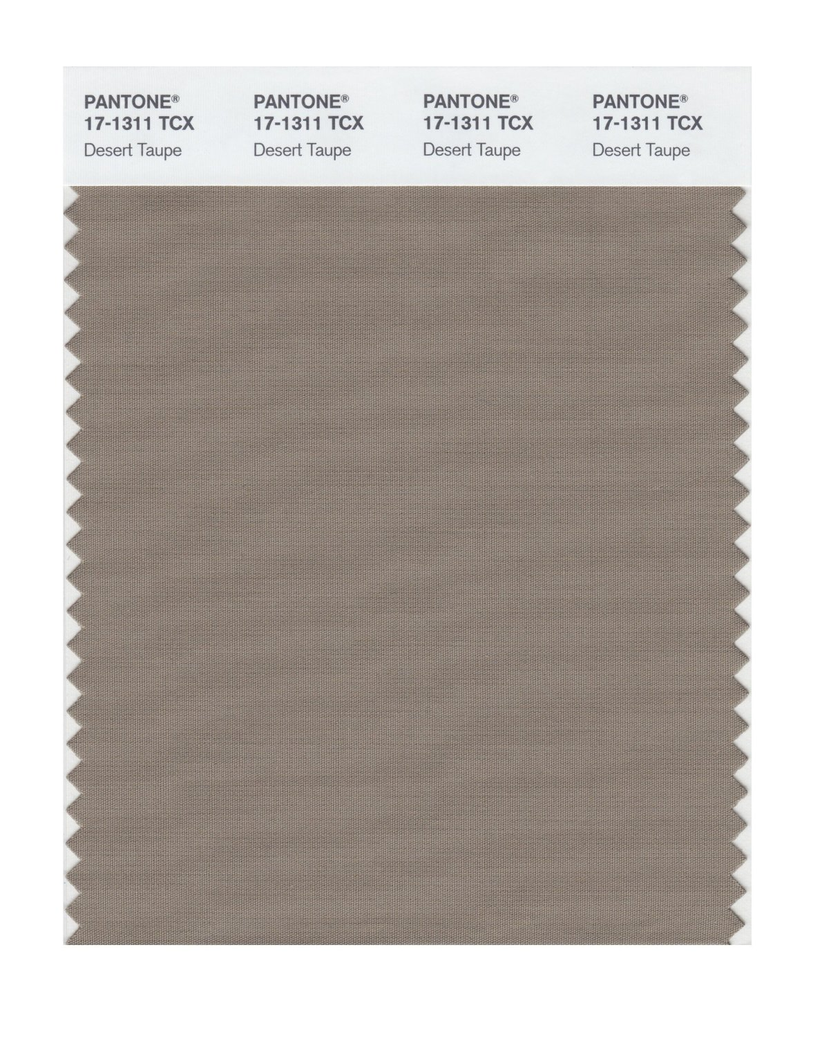Pantone Smart Swatch 17-1311 Desert Taupe