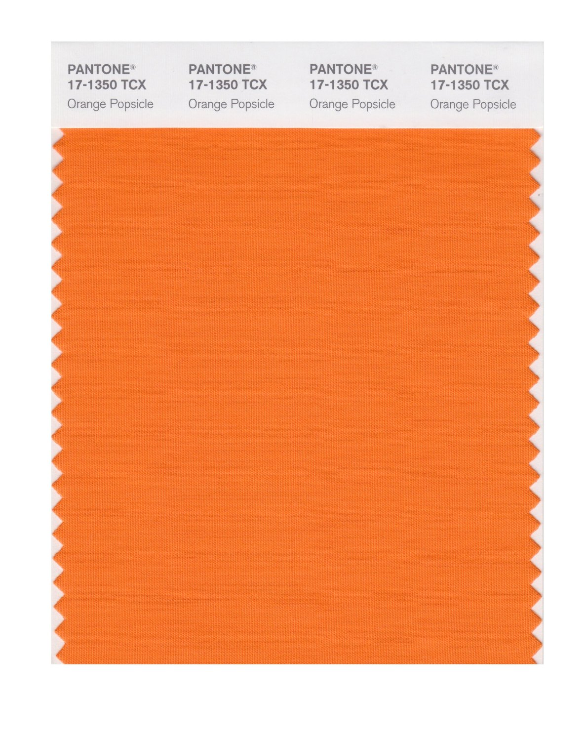 Pantone Smart Swatch 17-1350 Orange Popsicle