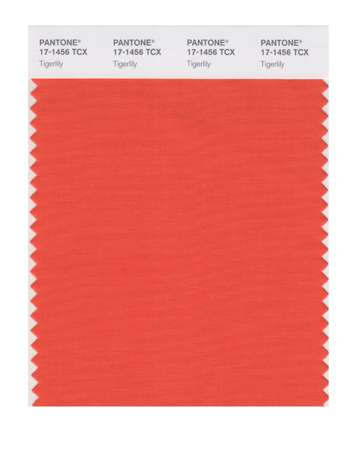 Pantone Smart Swatch 17-1456 Tigerlily