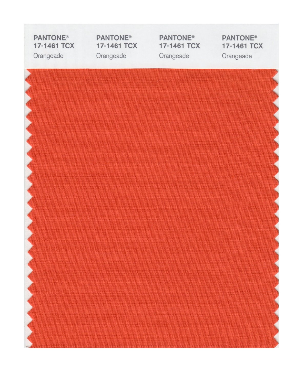 Pantone Smart Swatch 17-1461 Orangeade
