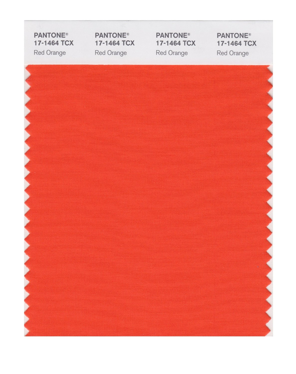 Pantone Smart Swatch 17-1464 Red Orange