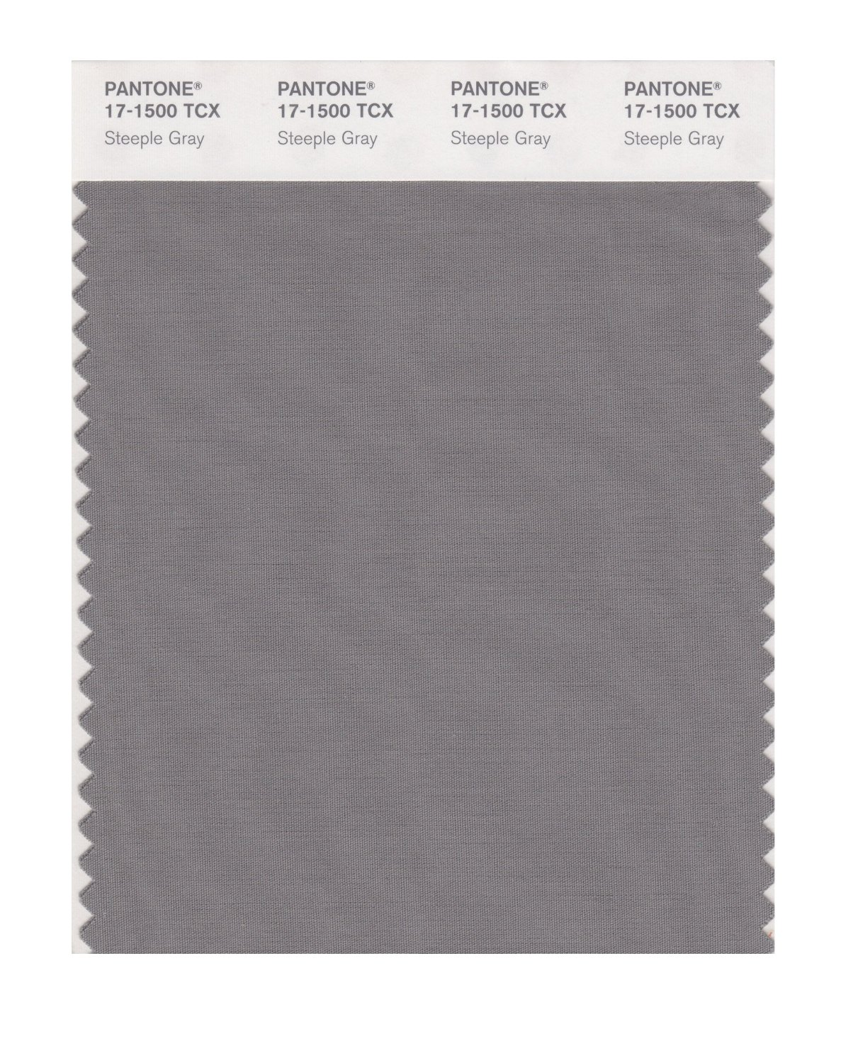 Pantone Smart Swatch 17-1500 Steeple Gray